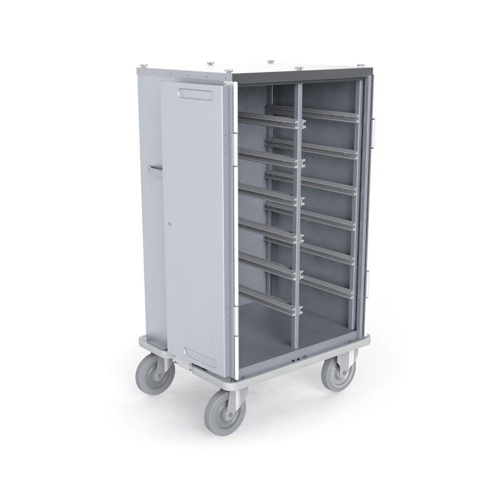 Transfer-Schrank / Wäsche / mit Tür / mit Korb - ISO 2 - MECHIN