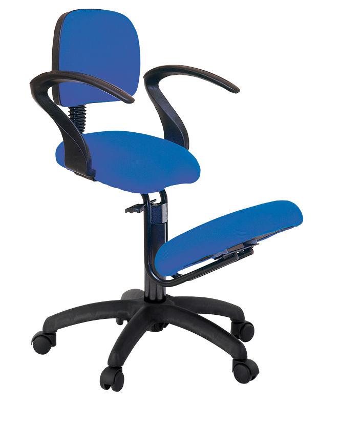 Stuhl auf Rollen / mit Armlehnen / ergonomisch / Knie - S2603 ...