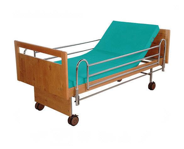 Bett für häusliche Krankenpflege / Langzeitpflege / manuell ...