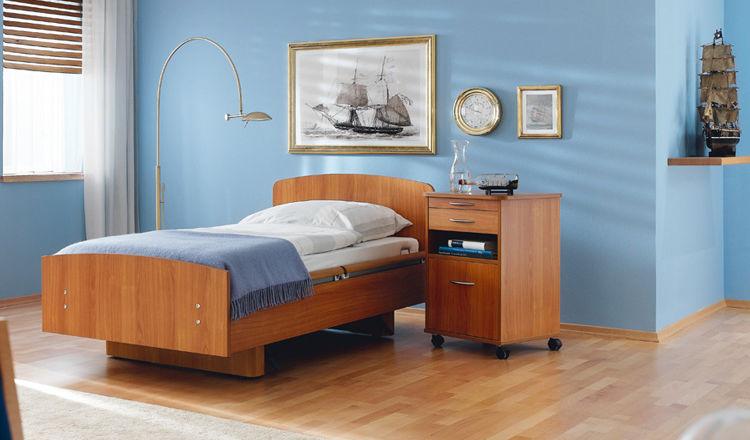 Langzeitpflege Bett / Elektrisch / Höhenverstellbar / Pflege   Movita Casa