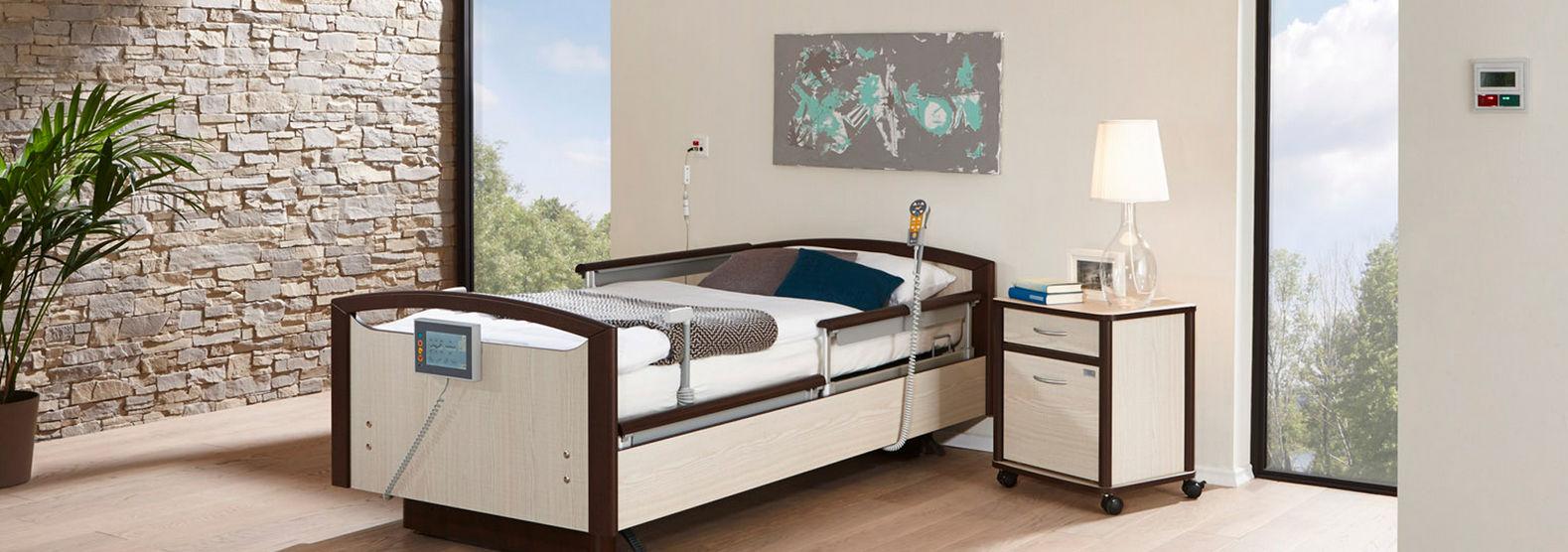 Superior Langzeitpflege Bett / Elektrisch / Mit Trendelenburg Lagerung /  Höhenverstellbar   Sentida 7 I