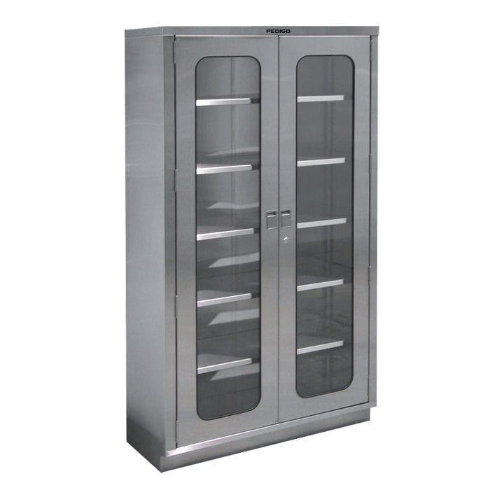 Stauraum-Schrank / für OP-Bereich / mit Regal / 2 Türen - Pedigo