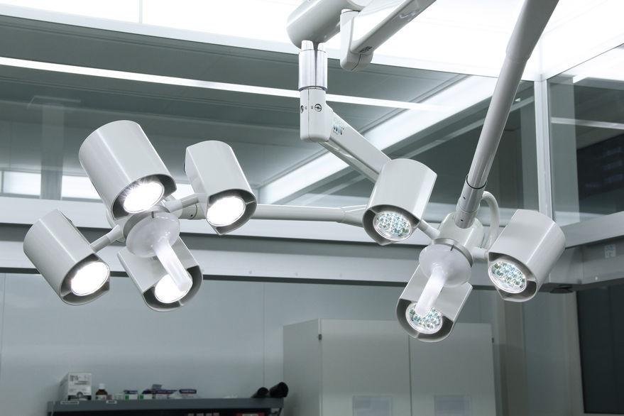 OP-Leuchte / Deckenmontage / LED - LUX EL - ADMECO