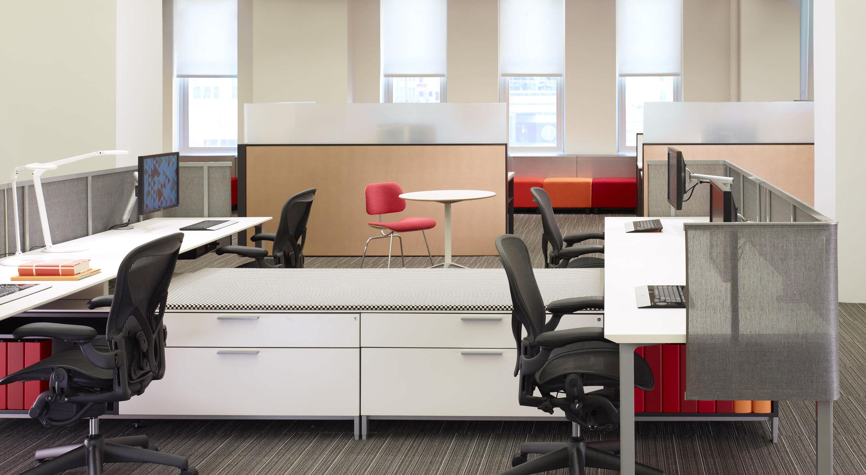 Schreibtisch Für Open Space   Canvas Office Landscape
