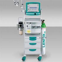 Anästhesiewagen / 4 Schubladen / mit Träger für Sauerstoffflaschen / zum Einbauen