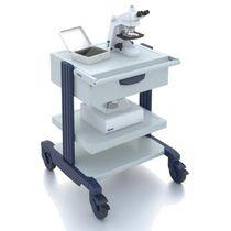 Stauraumwagen / für Medizinprodukte / für Labormaterialien / mit Platte