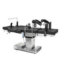 Elektrische Entbindungstisch / hydraulisch / mit Armlehnen / mit Fußstütze