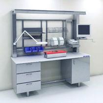 Modulare Labor-Arbeitsstation / mit Fußgestell