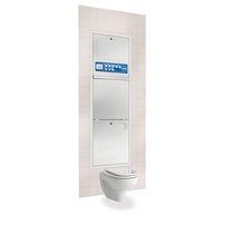 Reinigungs- und Desinfektionsgerät / für Bettschüsseln / zum Einbauen / wandmontiert / Wasserenthärtungs-Dosierpumpe
