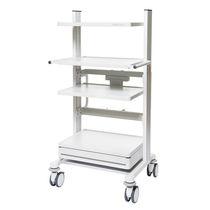 Transportwagen / für Deckeneinheit / für Medizinprodukte / höhenverstellbar