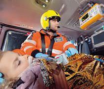 Elektronisches Beatmungsgerät / Notfall / Transport