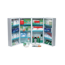 Stauraum-Schrank / Medikamente / Krankenhaus / 2 Türen