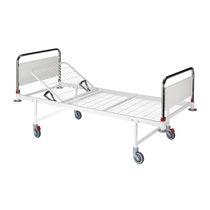 Krankenhausbett / manuell / feste Höhe / mit Räderblockiersystem