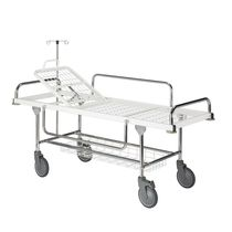 Transport-Fahrtrage / manuell / verstellbare Rückenlehne / zweiteilig
