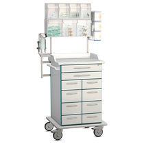 Pflegewagen / mit Rahmen / mit Schublade / modular