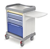 Vielzweckwagen / für Wäsche / mit Träger für Defibrillator