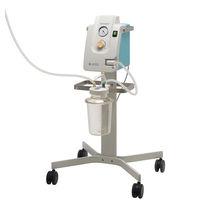 Elektrische Chirurgische Absaugpumpe / für Pleuradrainage / auf Rollen