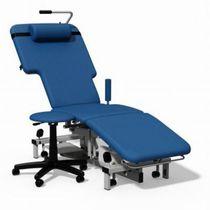 Untersuchungsliege für Echocardiographie / elektrisch / höhenverstellbar / auf Rollen