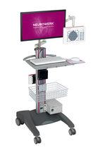 Elektroenzephalograph / 58 Kanäle / auf Wagen / EEG-Mapping / elektronisch