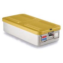 Sterilisationscontainer für Instrumente / Aluminium / perforiert