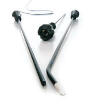 Thorakoskopie-Elektrode / laparoscopische / Bajonett / mit Haken