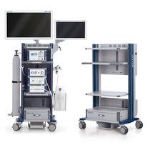 Stauraumwagen / für Endoskopie / mit Schublade / mit Regal