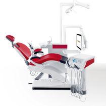 Dentale Einheit / mit Instrumententräger / mit Hygienesystem / mit Monitor / kompakt