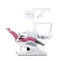 Dentale Einheit / mit Hygienesystem / mit Instrumententräger / mit Monitor