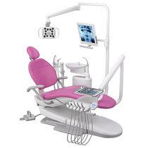 Dentale Einheit / mit Instrumententräger / mit Licht / mit Monitor