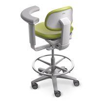 Dentalhocker / höhenverstellbar / verstellbare Rückenlehne