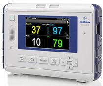 Klinik Patientenmonitor / für Atemgeräusche / etCO2 / SpO2