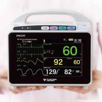 Patientenmonitor für die Intensivpflege / EKG / TEMP / etCO2