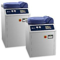 Sterilisator für Labors / Dampf / mit Fußgestell / vertikal