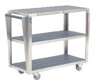 Transportwagen / Stauraum / für OP-Tisch Zubehör / 3 Ebenen