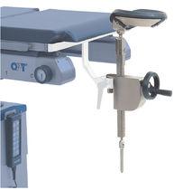 Kopfstütze / für OP-Tisch / höhenverstellbar