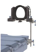 Knieablage / für OP-Tisch / für Arthroskopie / höhenverstellbar