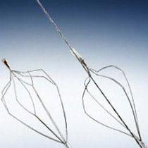 Fangkörbchen zur Extraktion von Nierensteinen / gerade