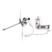 Hysteroresektoskop Endoskop / gerade / mit Absauger / Arbeitskanälen