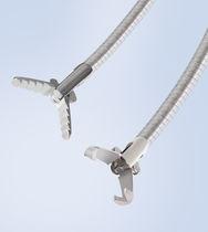Endoskopische Zange / zum Greifen / zum Einmalgebrauch / wiederverwendbar