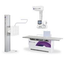Röntgensystem / digital / für multifunktionale Radiologie / mit Schwenkarm-Säulen