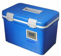 Tragbarer Kühlschrank / für Impfstoffe / Blutbank