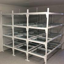 Modulares Regal / Sarg für Leichenhallen / offene Bauweise