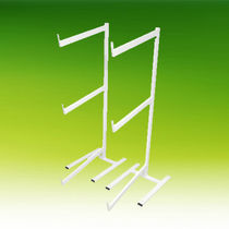 Regal / 2 Reihen / Sarg für Leichenhallen