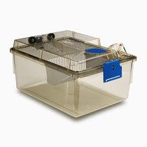 Belüfteter Käfig / für Nagetiere / für Tierversuche / modular
