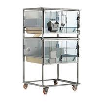 Käfig für Frettchen / für Tierversuche / 2 Abteile