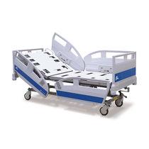 Krankenhausbett / manuell / höhenverstellbar / auf Rollen