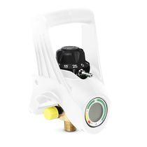 Druckregler für medizinische Gase / mit Durchsatzwähler / eingebaut