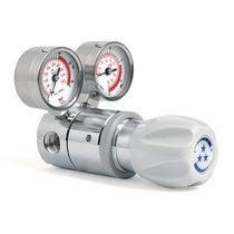 Gasdruckregler / einstufig / Hochdruck / für Labors