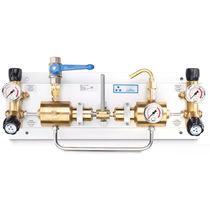 Medizinisches Gasversorgungssystem / für Gas / für Zufuhr / Labor
