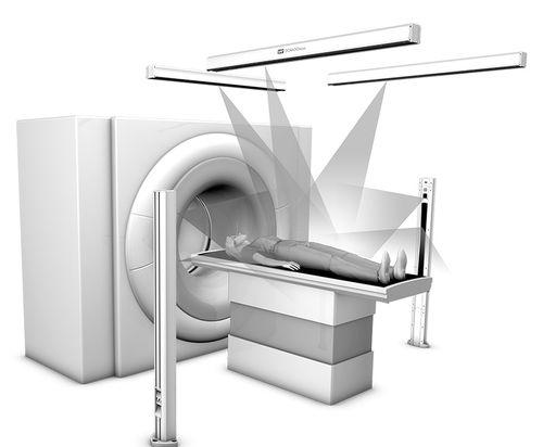 Laser für Patientenpositionierung / für X-Scanner / grün / rot / blau